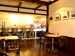 cafe Apollon 展示風景